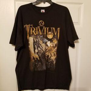 Trivium 2007 Concert T size xl, vintage